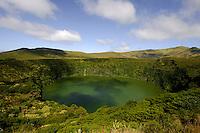 Caldeira Funda = Caldeira Negra auf der Insel Flores, Azoren, Portugal