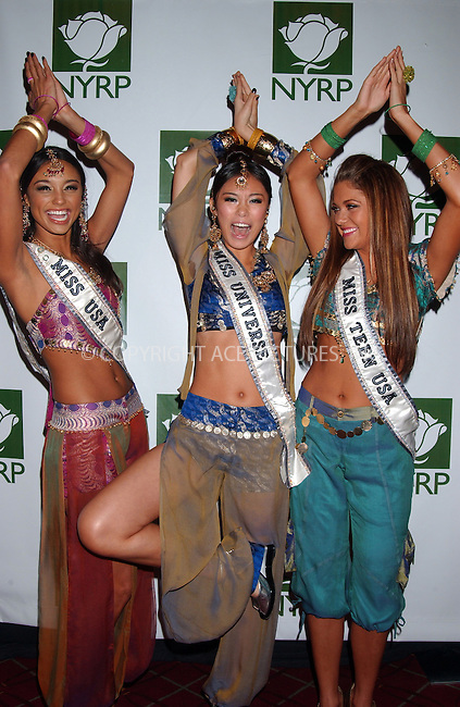 WWW.ACEPIXS.COM . . . . . ....October 31 2007, New York City....Miss USA Rachel Smith, Miss Universe Riyo Mori and Miss Teen USA Hillary Cruz attending Bette Midler's 12th Annual NYRP 'Hulaween' Ball ....Please byline: KRISTIN CALLAHAN - ACEPIXS.COM.. . . . . . ..Ace Pictures, Inc:  ..(646) 769 0430..e-mail: info@acepixs.com..web: http://www.acepixs.com
