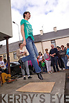 Dancing on the streets of Brosna for the annual Con Curtin music festival.