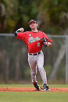 Illinois State Redbirds Ryan Koziol (2) during a game against the Georgetown Hoyas on March 7, 2015 at North Charlotte Regional Park in Port Charlotte, Florida.  Illinois State defeated Georgetown 2-1.  (Mike Janes/Four Seam Images)
