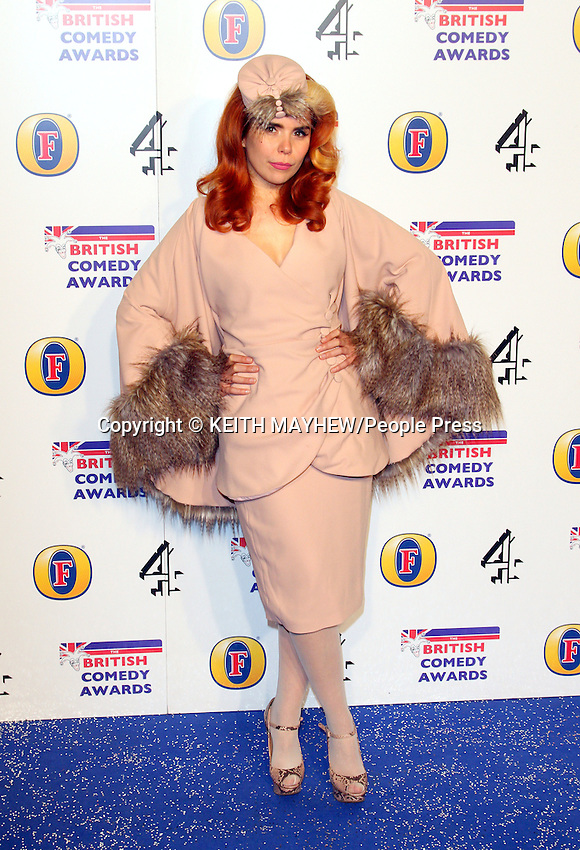 London - British Comedy Awards at Fountain Studios, Wembley, London - December 16th 2011..Photo by Keith Mayhew