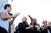 RIO DE JANEIRO, RJ 16 OUTUBRO 2012 - COLETIVA DE IMPRENSA ROCK IN RIO 2012 - Coletiva de imprensa do Rock In Rio 2013 no Cristo Rendentor no Rio de Janeiro, nesta terca-feira, 16. A edição 2013 do Rock In Rio será realizada entre os dias 13 e 22 de setembro, assim como em 2011, no Parque dos Atletas, na Barra da Tijuca. A expectativa é que 595 mil pessoas estejam presentes no próximo festival durante todos os dias de festa. Em 2013, o evento terá capacidade máxima de 85 mil pessoas por dia. (FOTO: ISABELA CATAO  / BRAZIL PHOTO PRESS).