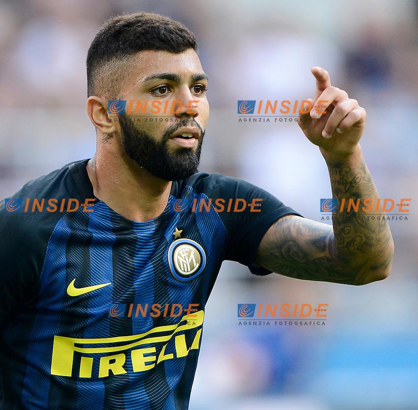 Gabriel Barbosa Gabigol Inter<br /> Milano 25-09-2016 Stadio Giuseppe Meazza - Football Calcio Serie A Inter - Bologna. Foto Giuseppe Celeste / Insidefoto