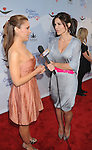 HOLLYWOOD, CA. - April 16: Alyssa Milano and Lauren Sanchez arrive at the Children Mending Hearts Third Annual Peace Please Gala at the Music Box Henry Fonda Theatre on April 16, 2010 in Hollywood, California.