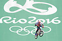Yoshitaku Nagasako (JPN), <br /> AUGUST 17, 2016 - Cycling : <br /> Men's BMX Seeding Run <br /> at Olympic BMX Centre <br /> during the Rio 2016 Olympic Games in Rio de Janeiro, Brazil. <br /> (Photo by Yusuke Nakanishi/AFLO SPORT)