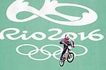 Yoshitaku Nagasako (JPN), <br /> AUGUST 17, 2016 - Cycling : <br /> Men's BMX Seeding Run <br /> at Olympic BMX Centre <br /> during the Rio 2016 Olympic Games in Rio de Janeiro, Brazil. <br /> (Photo by Yusuke Nakanishi/AFLO SPORT)