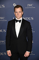 Taron Eggerton<br /> arriving for the LUMINOUS Gala 2019 at the Roundhouse Camden, London<br /> <br /> ©Ash Knotek  D3522 01/10/2019