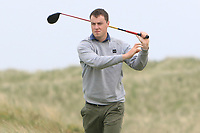 Jack McDonnell (Forrest Little) on the 9th tee during Round 1 of The East of Ireland Amateur Open Championship in Co. Louth Golf Club, Baltray on Saturday 1st June 2019.<br /> <br /> Picture:  Thos Caffrey / www.golffile.ie<br /> <br /> All photos usage must carry mandatory copyright credit (© Golffile | Thos Caffrey)