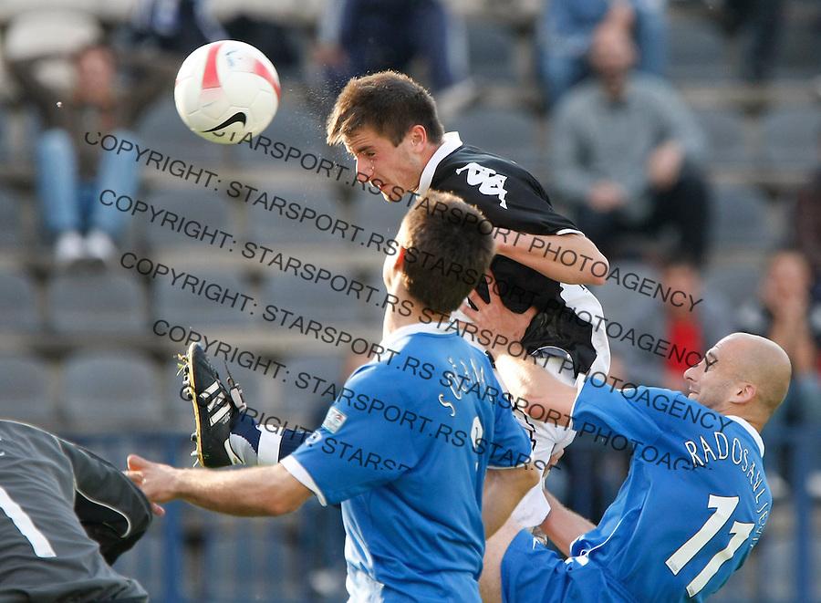 Fudbal, Meridijan super liga, sezona 2007/08.Smederevo Vs. Partizan.Zoran Tosic.Smederevo, 05.03.2008.foto: Srdjan Stevanovic