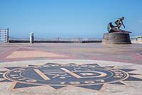 Tim Kelly Lifeguard Memorial Statue at Hermosa Beach Pier