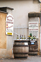 wine shop domaine m voarick aloxe-corton cote de beaune burgundy france