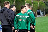 SOTOGRANDE  - Voetbal, Trainingskamp FC Groningen, seizoen 2017-2018, 09-01-2018,  FC Groningen speler Uriel Antuna
