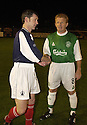 10/10/2002                   Copyright Pic : James Stewart.File Name : stewart-crunchie 04.KEVIN MCALLISTER SHAKES HANDS WITH GORDON STRACHAN BEFORE THE START OF HIS TESTIMONIAL...Payments to :-.James Stewart Photo Agency, 19 Carronlea Drive, Falkirk. FK2 8DN      Vat Reg No. 607 6932 25.Office     : +44 (0)1324 570906     .Mobile  : +44 (0)7721 416997.Fax         :  +44 (0)1324 570906.E-mail  :  jim@jspa.co.uk.If you require further information then contact Jim Stewart on any of the numbers above.........