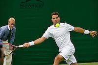 England, London, 25.06.2014. Tennis, Wimbledon, AELTC, Jean-Julien Rojer (NED) <br /> Photo: Tennisimages/Henk Koster