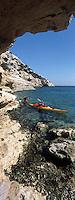 Europe/France/Provence-Alpes-Côte d'Azur/13/Bouches-du-Rhône/Marseille: En Kayak dans la calanque de Morgiou [Auto N°: 331]
