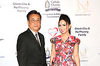 BURBANK - APR 27: Steve Lee, Ha Phuong at the Faith, Hope and Charity Gala hosted by Catholic Charities of Los Angeles at De Luxe Banquet Hall on April 27, 2019 in Burbank, CA