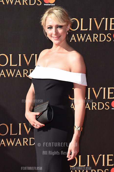 Ali Bastian at The Olivier Awards 2017 at the Royal Albert Hall, London, UK. <br /> 09 April  2017<br /> Picture: Steve Vas/Featureflash/SilverHub 0208 004 5359 sales@silverhubmedia.com