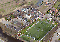 Schule Curslack Neuengamme: EUROPA, DEUTSCHLAND, HAMBURG, BERGEDORF (EUROPE, GERMANY), 21.04.2013:Schule Curslack Neuengamme