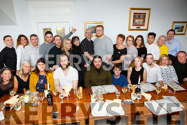 The staff of Benners Hotel enjoying their Christmas party in Bella Bia on Sunday last.