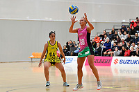 Southern Blast&rsquo;s Renaye Flockton in action during the Beko Netball League - Central Manawa v Southern Blast at ASB Sports Centre, Wellington, New Zealand on Sunday 12 May 2019. <br /> Photo by Masanori Udagawa. <br /> www.photowellington.photoshelter.com