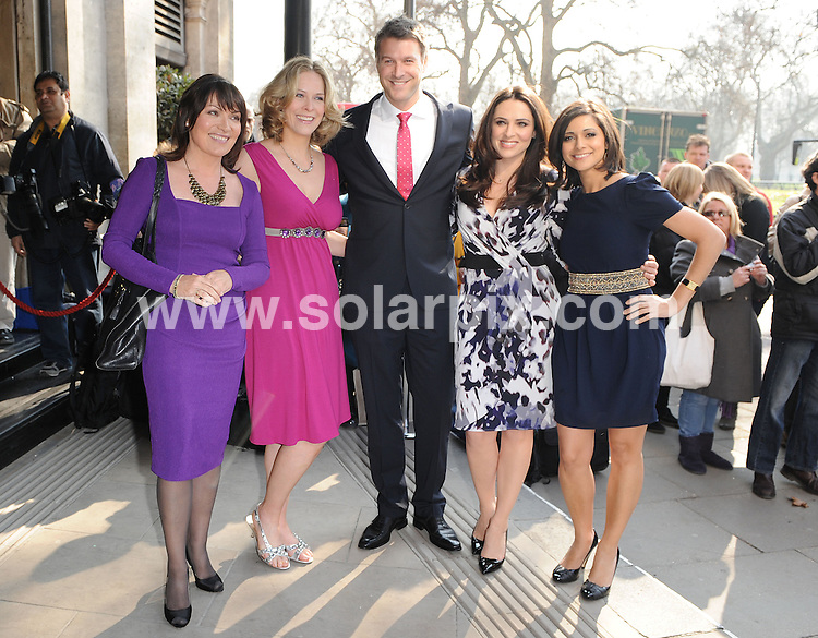 **ALL ROUND PICTURES FROM SOLARPIX.COM**                                             **WORLDWIDE SYNDICATION RIGHTS**                                                                                  Outside arrivals at the TRIC Awards 2011.  Held at Grosvenor House, Park Lane, London, on Tuesday March 08, 2011                                                                         This pic:    Lorraine Kelly                                                                                      JOB REF:    12940    SSD       DATE:    08.03.11                                                        **MUST CREDIT SOLARPIX.COM OR DOUBLE FEE WILL BE CHARGED**                                                                      **MUST AGREE FEE BEFORE ONLINE USAGE**                               **CALL US ON: +34 952 811 768 or LOW RATE FROM UK 0844 617 7637**