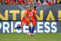 Philadelphia, PA - Tuesday June 14, 2016: Marcelo Diaz during a Copa America Centenario Group D match between Chile (CHI) and Panama (PAN) at Lincoln Financial Field.