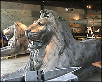 Have your very own Trafalgar Square lions.