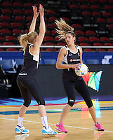04.08.2015 Silver Ferns Kayla Cullen during Silver Ferns training ahead of the 2015 Netball World Champs at All Phones Arena in Sydney, Australia. Mandatory Photo Credit ©Michael Bradley.