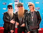 ZZ Top Dusty Hill, Billy Gibbons and Frank Beard at the American Idol Season 7 Grand Finale on May 21, 2008 at Nokia Theatre in Los Angeles...Photo by Chris Walter/Photofeatures