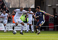 Pictured: Darren Pratley of Swansea City in action<br /> Re: Coca Cola Championship, Swansea City FC v Cardiff City at the Liberty Stadium. Swansea, south Wales, Sunday 30 November 2008.<br /> Picture by D Legakis Photography / Athena Picture Agency, Swansea 07815441513