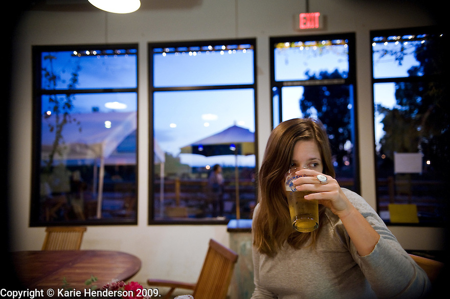 At Island Brew, in Carpenteria, Calif., on Sunday, Oct. 5, 2009. © Karie Henderson 2009