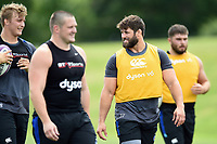 Guy Mercer of Bath Rugby looks on. Bath Rugby pre-season skills training on June 22, 2017 at Farleigh House in Bath, England. Photo by: Patrick Khachfe / Onside Images