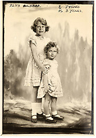 BNPS.co.uk (01202 558833)<br /> Pic: MarcusAdams/ChiswickAuctions/BNPS<br /> <br /> Princess Elizabeth aged 7 Princess Margaret aged 3,<br /> <br /> Charming childhood photos of Princess Elizabeth and Princess Margaret have come to light, including a previously unseen image of the future Queen in a kilt.<br /> <br /> The portraits, taken by acclaimed British society photographer Marcus Adams, capture the future Queen from being a baby to her adolescence.<br /> <br /> The Queen Mother would often take her daughters to his central London studio where he would set up toys and props to keep them entertained