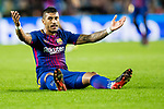 Jose Paulo Bezerra Maciel Junior, Paulinho, of FC Barcelona reacts during the La Liga 2017-18 match between FC Barcelona and Sevilla FC at Camp Nou on November 04 2017 in Barcelona, Spain. Photo by Vicens Gimenez / Power Sport Images