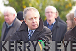 Mickey Ned O'Sullivan at the Funeral of Paudi O'Se at Ventry Church on Tuesday.