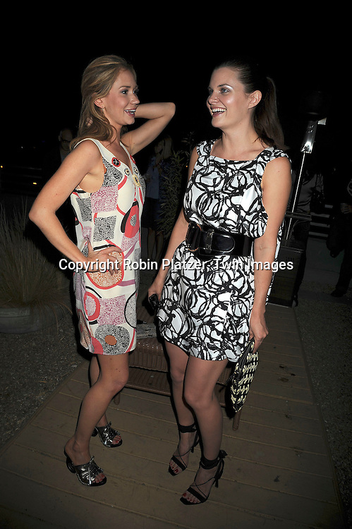 """Ashley Jones and Heather Tom of """"Bold and Beautiful"""".at The Daytime for Planned Parenthood Event on .June 18, 2008 at The Cosmos Lofts Rooftop hosted by Heather Tom in Hollywood, California. ..Robin Platzaer, Twin Images"""