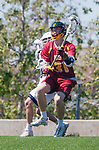 Los Angeles, CA 04/01/16 - Jake Corrigan (USC #31) in action during the University of Southern California and Loyola Marymount University SLC conference game  USC defeated LMU.