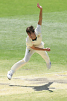 29th December 2019; Melbourne Cricket Ground, Melbourne, Victoria, Australia; International Test Cricket, Australia versus New Zealand, Test 2, Day 4; Pat Cummins of Australia bowls - Editorial Use