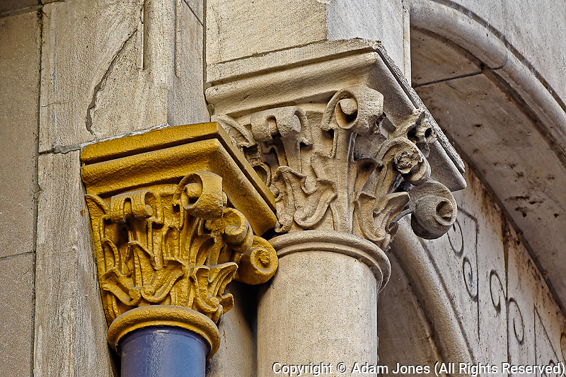 Architectural details, Main Street, Louisville, Kentucky