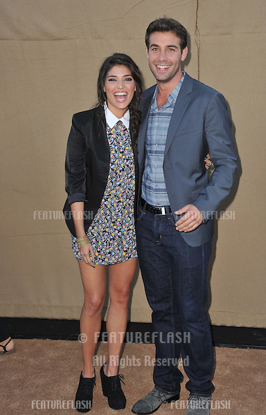 Amanda Setton &amp; James Wolk at the CBS 2013 Summer Stars Party in Beverly Hills.<br /> July 29, 2013  Los Angeles, CA<br /> Picture: Paul Smith / Featureflash