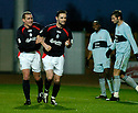 01/01/2005  Copyright Pic : James Stewart.File Name : jspa05_falkirk_v_raith-rovers.ANDY THOMSON IS CONGRATULATED BY CRAIG MCPHERSON AFTER HE SCORES FALKIRK'S SECOND...Payments to :.James Stewart Photo Agency 19 Carronlea Drive, Falkirk. FK2 8DN      Vat Reg No. 607 6932 25.Office     : +44 (0)1324 570906     .Mobile   : +44 (0)7721 416997.Fax         : +44 (0)1324 570906.E-mail  :  jim@jspa.co.uk.If you require further information then contact Jim Stewart on any of the numbers above.........