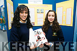 Maria Elena Vilar Alvarez and Maria Esther Vilar Alvarez from Pobalscoil Inbhear Sceine, Kenmare with  their project An Investigation on anti fungal effects of garlic and Barberry on Candida Albans  at SciFest 2016 on Thursday at ITT North Campus, 8th Science and Technology competition for 2nd level schools