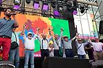 Mayores sin armarios during the presentation of the lgtb pride party of Madrid. July 3, 2019. (ALTERPHOTOS/JOHANA HERNANDEZ)