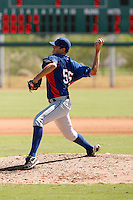 Shawn Blackwell - Texas Rangers 2009 Instructional League. .Photo by:  Bill Mitchell/Four Seam Images..