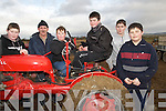 VINTAGE CLASS: Learning all about the vintage tractor at the Abbeydorney Ploughing competition on Sunday in Abbeydorney were locals l-r: John Mahony, John McCarthy, Craig Freeman, Adam Buckley, Patrick Buckley and Ryan Freeman.
