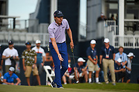 Carlos Ortiz (MEX) looks over his putt on 18 during round 4 of the 2019 Houston Open, Golf Club of Houston, Houston, Texas, USA. 10/13/2019.<br /> Picture Ken Murray / Golffile.ie<br /> <br /> All photo usage must carry mandatory copyright credit (© Golffile | Ken Murray)