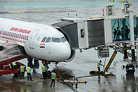 INDIA, Mumbai , Chatrapati Shivaji International Airport, Airbus of Air India
