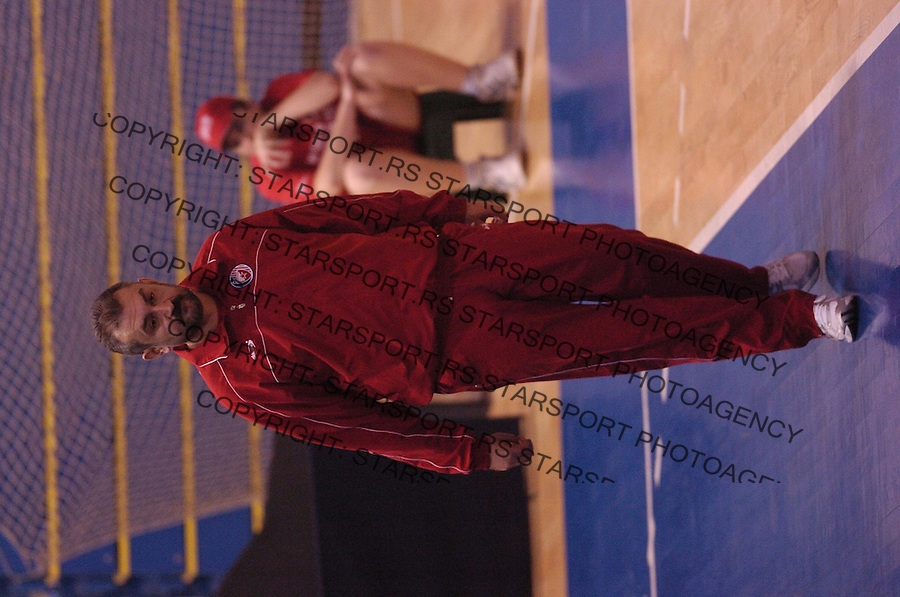 Sport odbojka volleyball Crvena Zvezda Partizan wiener stadtische liga 7.12.2006. Bulatovic Zeljko photo: Pedja Milosavljevic<br />