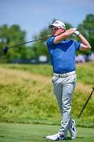 Brandon Stone (RSA) watches his tee shot on 12 during Thursday's round 1 of the 117th U.S. Open, at Erin Hills, Erin, Wisconsin. 6/15/2017.<br /> Picture: Golffile | Ken Murray<br /> <br /> <br /> All photo usage must carry mandatory copyright credit (&copy; Golffile | Ken Murray)