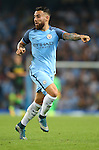 Nicolas Otamendi of Manchester City during the UEFA Champions League Group C match at The Etihad Stadium, Manchester. Picture date: September 14th, 2016. Pic Simon Bellis/Sportimage